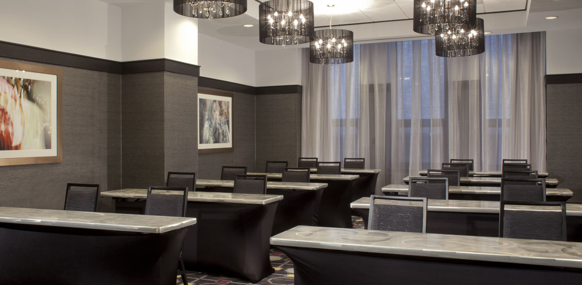 Meetings Floor Plan at Silversmith Hotel Chicago
