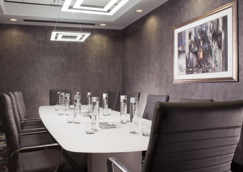 Emerald Executive Boardroom Floor Plan at Silver Smith Hotel Chicago